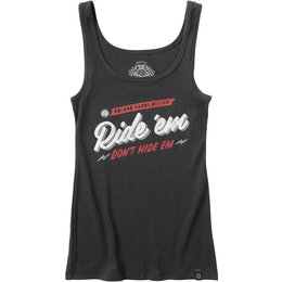 RSD Roland Sands Designs Womens Ride Em Tank Black