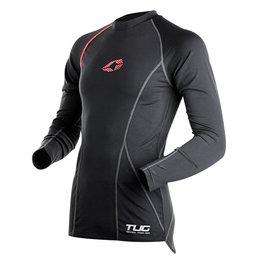 Black, Red Evs Mens Tug Long Sleeve Compression Shirt 2013 Black Red