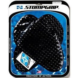 Stompgrip Tank Traction Pad Kit Side Black Universal 50-10-0001B