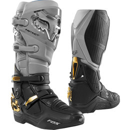 Fox Racing Mens Special Edition Instinct Boots Grey