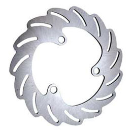 Stainless Steel Streamline Blade Rotor Front Left For Suzuki Lt-r450 06-11