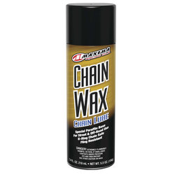 Maxima Chain Wax Lubricant Spray 5.5 Ounce Each 74908 Unpainted