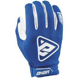 Answer Racing Mens AR-3 AR3 MX Gloves Blue