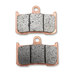 Vortex SS Superbike Sintered Front Brake Pads Single Set Kawasaki Triumph 782SS Unpainted