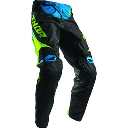 Thor Mens Fuse Propel MX Motocross Textile Riding Pants Black