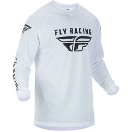 Fly Racing Mens Universal Jersey White