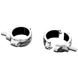 Chrome Kuryakyn 2 Piece Fork Mounts 39mm For Harley Honda Vlx