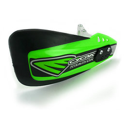 Cycra Stealth DX Complete Handshield Racer Pack Green Universal