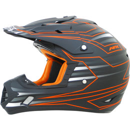 AFX FX17 Main Solid Motocross Helmet Orange