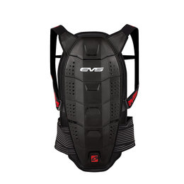 Black, Red Evs Mens Race Back Spine Protector 2013 Black Red