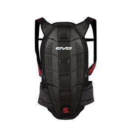 Black, Red Evs Mens Race Back Spine Protector 2013 Black Red