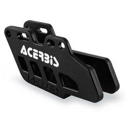 Black Acerbis Chain Guide 2-piece For Yamaha Wr450f Yz250 Yz450f