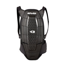 Black, White Evs Mens Sport Back Spine Protector 2013 Black White