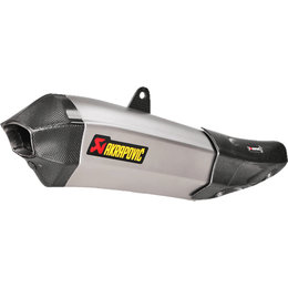 Akrapovic Slip-On Exhaust System For Yamaha YZF R1 2015 Titanium S-Y10SO14-HHX2T Unpainted