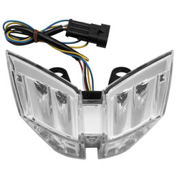 Bikemaster Integrated LED Tail Light Clear Lens For MV Agusta TZMVA-212-INT Transparent