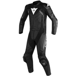 Dainese Mens Avro D2 2 Piece Leather Suit Black