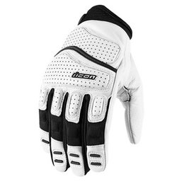 White Icon Superduty 2 Leather Gloves