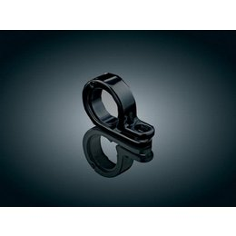 Black Kuryakyn P-clamp 1-1 8 Inch To 1-1 4 Inch
