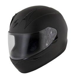 Matte Black Scorpion Mens Exo-r410 Full Face Helmet 2013