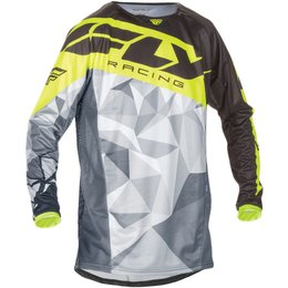Fly Racing Mens Kinetic Crux Jersey Black