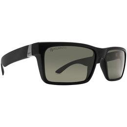 Black Satin/grey Polarized Dot Dash Vintage Collection Lads Sunglasses Black Satin Grey Polarized
