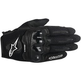 Alpinestars Womens Stella SMX-1 SMX1 Air Touchscreen Textile Gloves Black