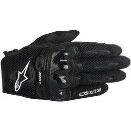 Alpinestars Womens Stella SMX-1 SMX1 Air Touchscreen Textile Gloves Black