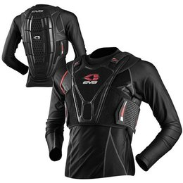 Black Evs Sport Chest Back Protector