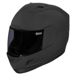 Black Icon Mens Alliance Dark Full Face Helmet 2013