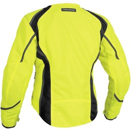 Day Glo Yellow Firstgear Womens Mesh Tex Textile Jacket