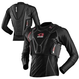 Black Evs Street Chest Back Protector