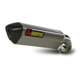 Stainless Steel Midpipe, Titanium Muffler, Carbon Fiber End Cap Akrapovic Slip-on Muffler Hexagonal Ss Ti Cf For Honda Cb1000r 2011-2012