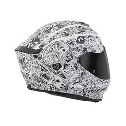 Scorpion EXO-R420 EXOR 420 Shake Full Face Helmet White