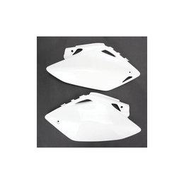 UFO Plastics Side Panels White KTM SX/F 11