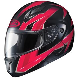 HJC CL-Max II 2 Ridge Modular Helmet With Flip Up Chin Bar Red