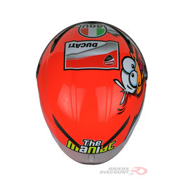 AGV Limited Edition Corsa Andrea Iannone Winter Test 2016 Full Face Helmet Multicolored