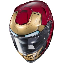HJC Officially Licensed RPHA 70 ST Iron Man Homecoming Full Face Helmet Red