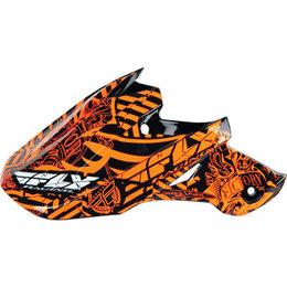 Orange Fly Racing Replacement Visor For F2 Carbon Helmet