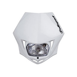 White Polisport Mmx Headlight 35 Watt Universal