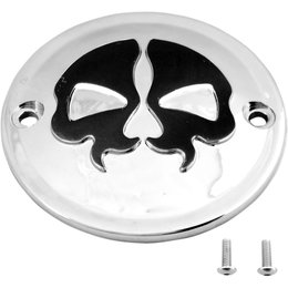 Drag Specialties Skull Points Cover Each For Harley Chrome Black 0940-1614 Unpainted