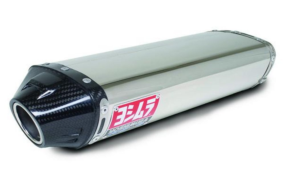 Stainless Sleeve with Carbon End Cap Yoshimura 1462275 192546 RS-5 Slip-On Muffler