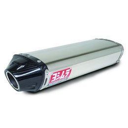 Stainless Steel Sleeve Muffler With Carbon Fiber Tip Yoshimura Rs-5 Slip-on Muffler Stainless Stainless Carbon For Kaw Zx-6r 05-06