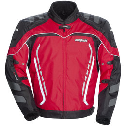 Red, Black Cortech Gx Sport 3 Textile Jacket Red Black