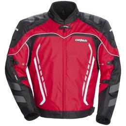 Red, Black Cortech Gx Sport 3 Textile Jacket Red Black