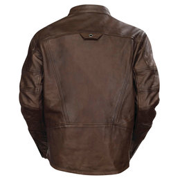 RSD Mens Ronin Leather Riding Jacket Brown