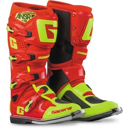 Answer Mens SG12 Motocross Riding Boots Yellow