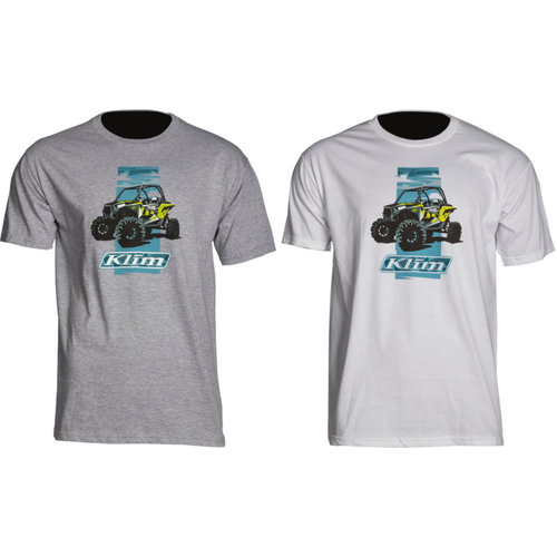 WHITE Klim RZR Graphic T-Shirt LARGE