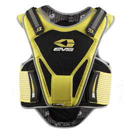 Yellow, Black Evs Mens Mil-spec Street Protection Vest 2013 Yellow Black