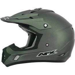 AFX FX17 Solid Motocross Helmet Green