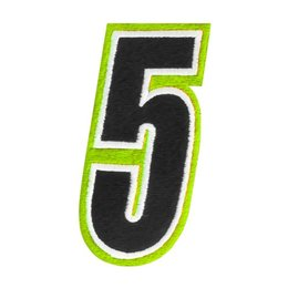 Hi-vis American Kargo 5 Inch Number #5 Five Patch 2014